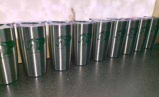 STAINLESS PC LOGO TUMBLER