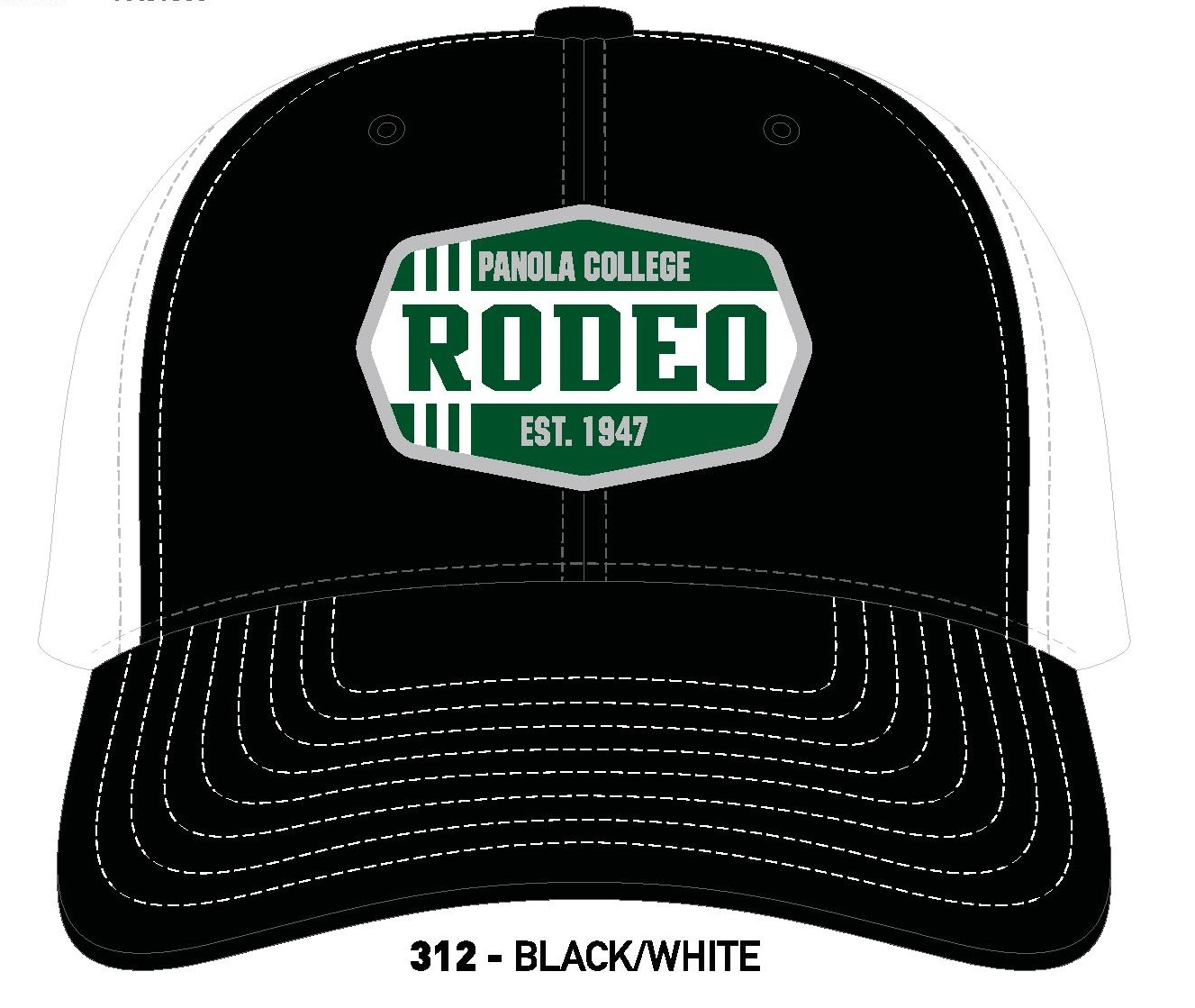 RODEO PATCH TRUCKER HAT
