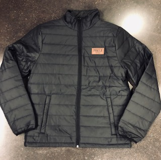 PC PUFF JACKET WITH PATCH