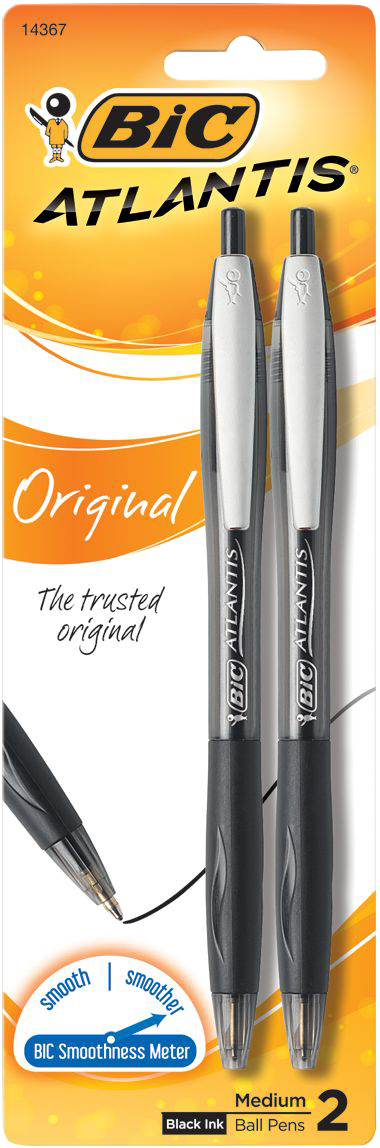 Cover Image For BIC Atlantis Retractable Ballpoint Pen