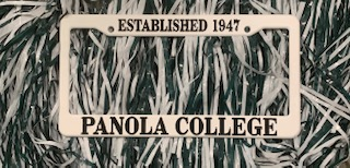 Cover Image For PANOLA LICENSE PLATE HOLD
