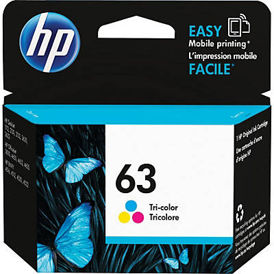 Image For HP INK 63 COLOR