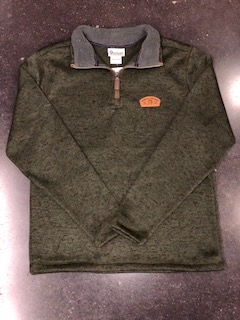 Cover Image For 1/4 ZIP PATCH JACKET
