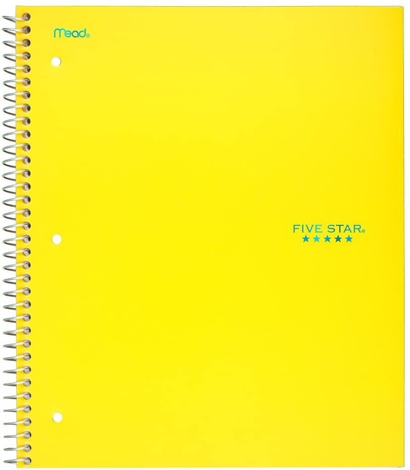 Image For 5 STAR 3 SUBJECT NOTEBOOK