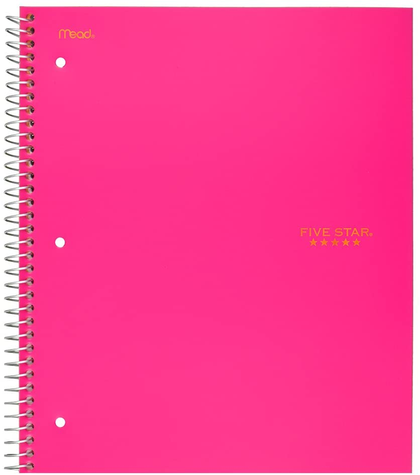 Image For 5 STAR 5 SUBJECT NOTEBOOK